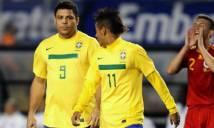Neymar còn 10 nấc thang để vượt Ro 'béo'