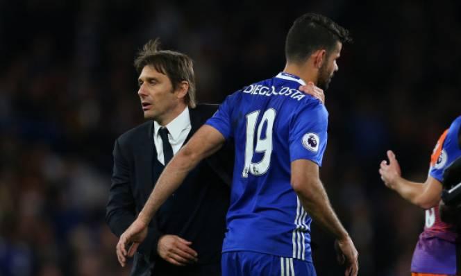 Chưa rời Chelsea, Diego Costa đã mặc áo Atletico trêu tức Conte