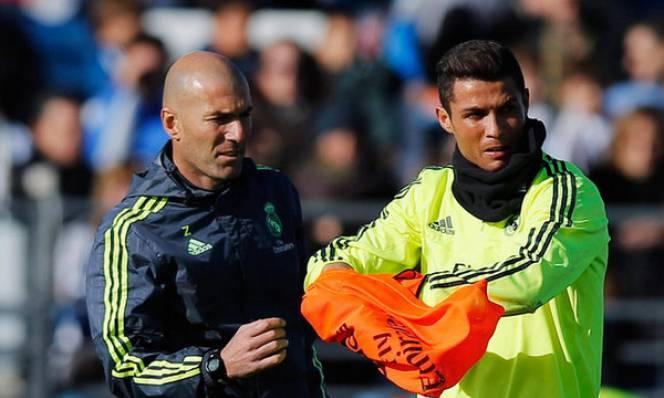 Zidane tuyên bố không để Ronaldo nghỉ ngơi
