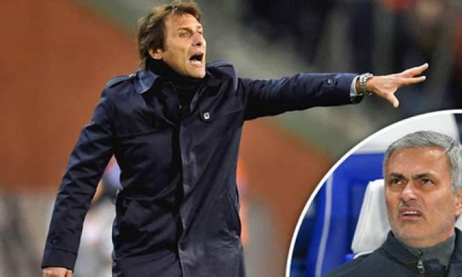 Thống kê thú vị về Chelsea của Conte và Mourinho