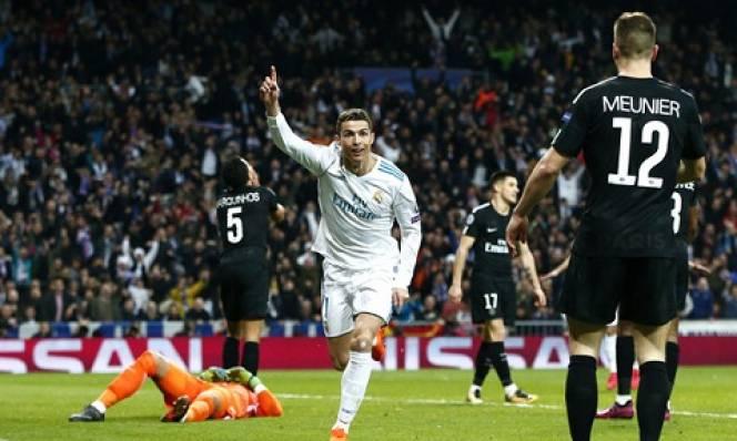 Kết quả Real Madrid - PSG: Ronaldo lập cú đúp, Real ngược dòng ngoạn mục
