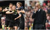 Điểm tin sáng 01/5: Chelsea có vé dự Champions League; Pep chính thức trắng tay ở mùa giải này