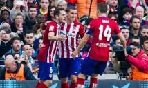 Đè bẹp Eibar trên sân nhà, Atletico Madrid rộng cửa vào bán kết Cúp nhà Vua