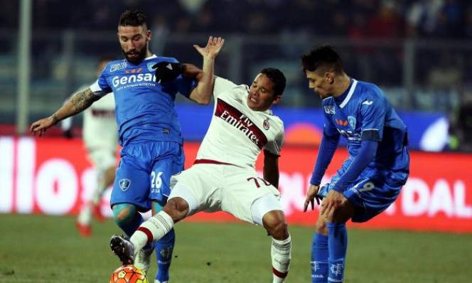 Empoli vs AC Milan, 02h45 ngày 27/11: Tiếp tục bám đuổi