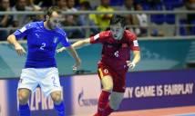 Futsal Việt Nam - Futsal Italia: Chiến công lịch sử
