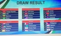 Bốc thăm vòng loại ASIAN Cup 2019: Tuyển Việt Nam 'dễ thở'