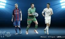 Lộ diện 3 cầu thủ xuất sắc nhất năm 2017