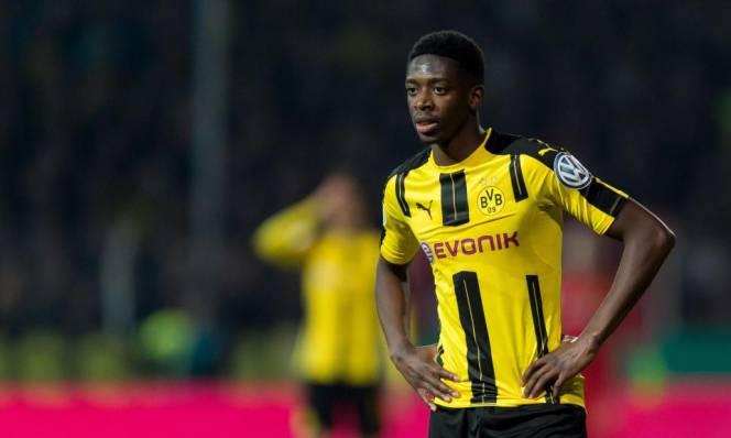 Dembele đẩy Dortmund vào thế khó