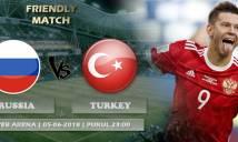 Nhận định Nga vs Thổ Nhĩ Kỳ, 23h00 ngày 5/6 (Giao hữu quốc tế)