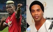 Mặc cho dư luận chỉ trích, Ronaldinho vẫn 'tâng bốc' ngôi sao MU lên tận 'mây xanh'