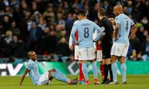 Fernandinho dính chấn thương nặng, Man City say men chiến thắng không trọn vẹn