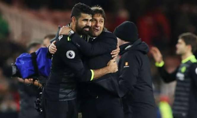Conte tâng bốc trò cưng sau chiến thắng trước Middlesbrough