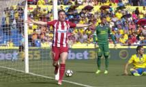 Thắng đậm Las Palmas, Atletico sẵn sàng cho đại chiến với Real