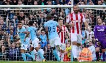 SOI SỐ BÀN THẮNG Stoke City vs Man City, 03h00 ngày 13/03 (Vòng 30 Premier League)