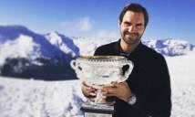 Federer ăn mừng 'độc đáo' danh hiệu Grand Slam thứ 18 trong sự nghiệp