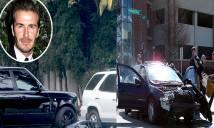 Cha con Beckham thoát chết 'thần kỳ' sau tai nạn xe hơi