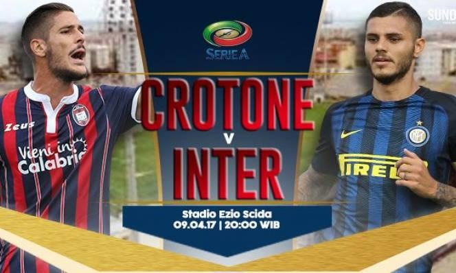 Crotone vs Inter Milan, 20h00 ngày 09/4: Khẳng định vị thế