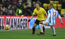 Nhận định Huddersfield vs Watford, 21h00 ngày 14/04 (Vòng 34 - Ngoại hạng Anh)
