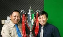 Phản đối bầu Hiển, CĐV đi trực thăng tới Lạch Tray trao cúp vô địch V-League cho Hải Phòng