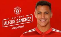 Điểm tin chuyển nhượng 19/1: MU sốt sắng đem chuyên cơ đến đón Sanchez