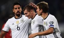 Đức – Séc: Thắng dễ, xe tăng vững ngôi đầu