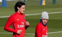 Tiết lộ: Neymar bị Cavani