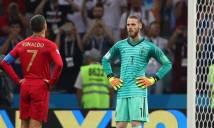 Thống kê khó tin về thủ môn De Gea tại World Cup 2018