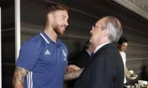 Perez dọa đá Ramos khỏi Real