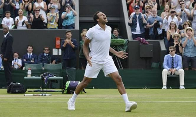 Tsonga trải qua trận đấu dài nhất tại Wimbledon 2016