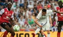 Real Madrid đánh bại Reims trong trận đấu mưa bàn thắng