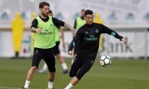 Căng thẳng giữa Cris Ronaldo và Ramos leo thang, Real nguy cơ loạn