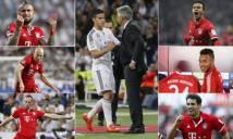 Bayern có thể xếp nhiều đội hình khủng với James