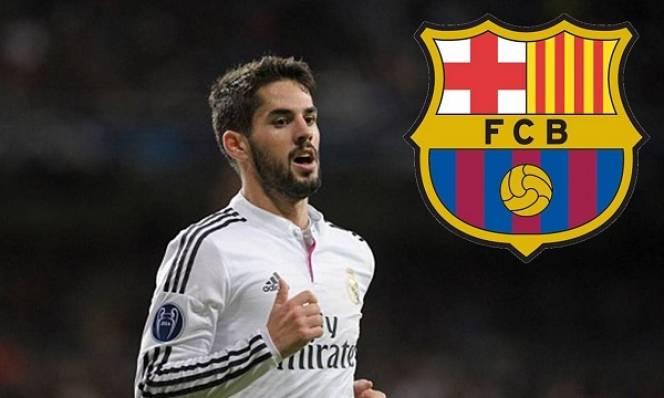 Barca 'chơi chiêu' kéo Isco về Camp Nou