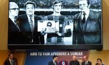 Barca tưởng nhớ huyền thoại Johan Cruyff bằng cách đặc biệt