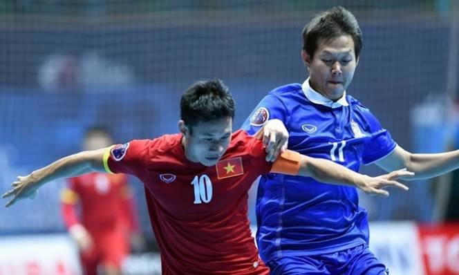 Tuyển futsal Việt Nam 'lực bất tòng tâm' trước Thái Lan