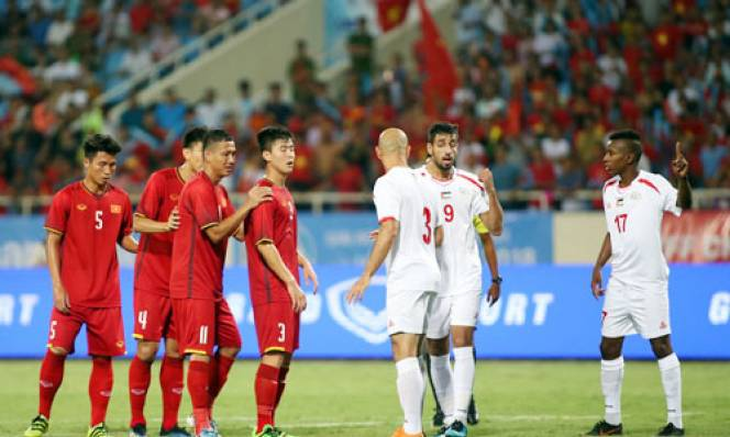 Olympic VN 2-1 Olympic Palestine