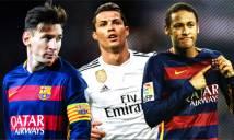 Neymar được cựu danh thủ Ý đánh giá cao hơn cả Ronaldo và Messi
