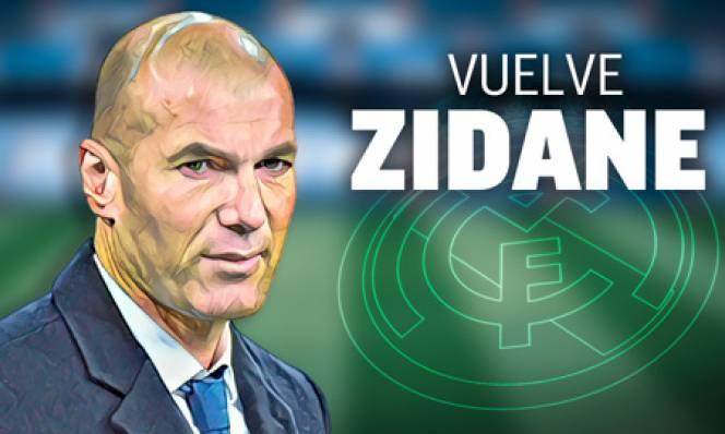 Real Madrid bổ nhiệm Zidane thay Solari, ký hợp đồng đến 2022