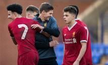 Liverpool của Gerrard đè bẹp M.U ở Champions League trẻ