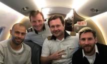 Messi và ĐT Argentina mới đi trên chiếc máy bay bị rơi ở Colombia