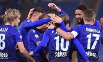 Immobile tỏa sáng, Lazio tiến vào tứ kết Cúp quốc gia Italia
