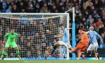 Man City 1-2 Lyon: Tự bắn vào chân, Man City trắng tay trước Lyon trên sân nhà