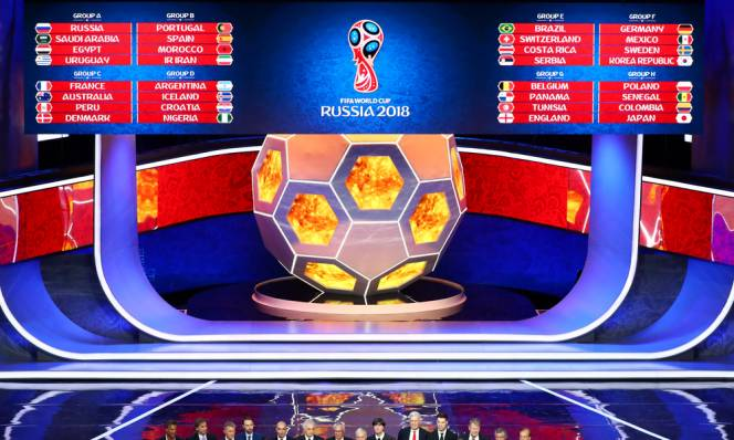 CHÍNH THỨC: World Cup 2018 khởi tranh từ 14/6