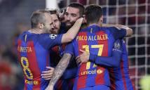 Barca lại lập kỷ lục tại cúp C1 ở trận thắng M'gladbach