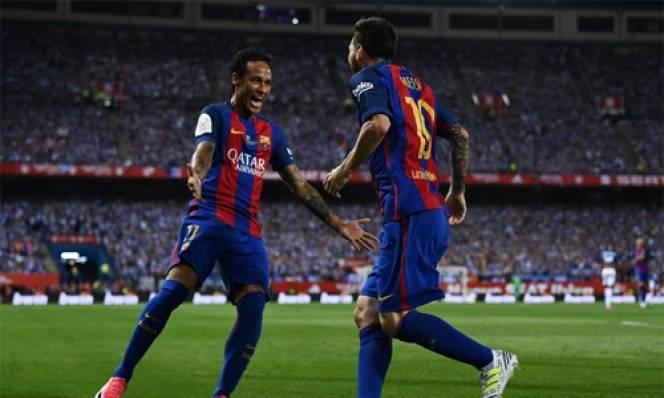 Messi khẳng định Barca vẫn còn chỗ cho Neymar