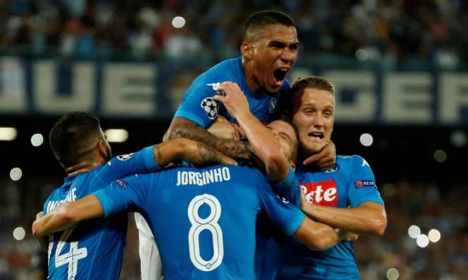 Kết quả Champions League / Cúp C1 châu Âu: Napoli, Sevilla đi tiếp, Nice dừng bước