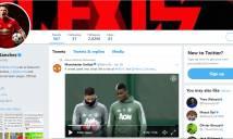 Alexis Sanchez chễm chệ làm 'vua' trên mạng xã hội