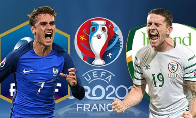 Pháp vs CH Ireland, 20h00 ngày 26/06: Ưu thế vượt trội