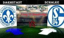Darmstadt vs Schalke, 21h30 ngày 30/01: 3 điểm đâu dễ lấy