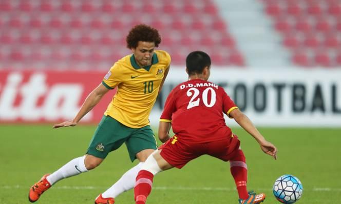 Không ăn được U23 Việt Nam, cầu thủ U23 Australia phát cáu